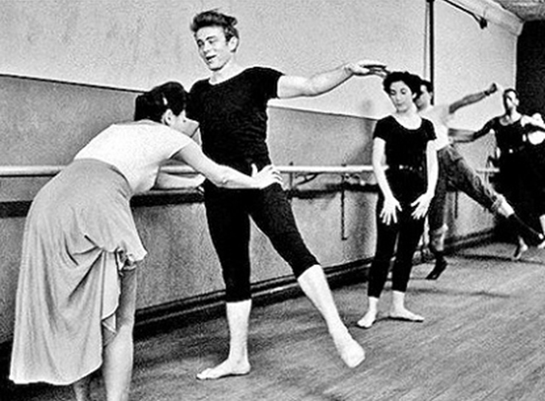 JamesDeanBalletClass